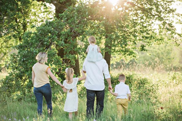 balade en famille