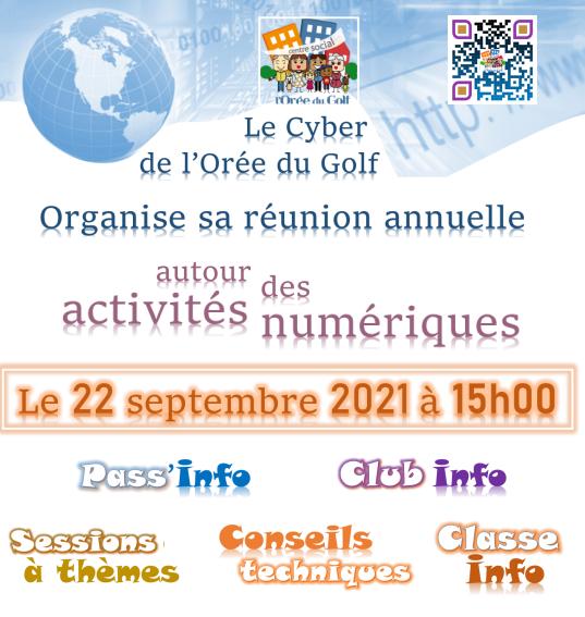 Réunion d'information sur les activités numériques 2021 – 2022